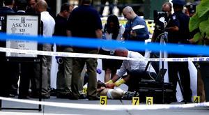 En el enfrentamiento entre agentes y el pistolero, algunos de los heridos podrían haber recibido impactos de bala por parte de la policía de Nueva York. (AP)