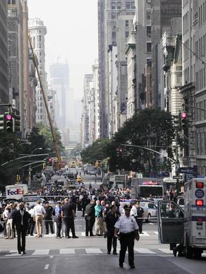 La Quinta Avenida quedó en 'shock' tras el trágico evento. (AP)