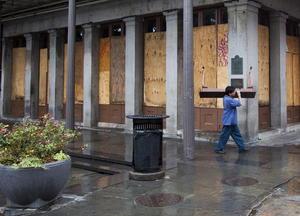 Las autoridades de Louisiana no ordenaron evacuaciones obligatorias en Nueva Orleans, pero sí exhortaron a sus residentes a dejar la ciudad.