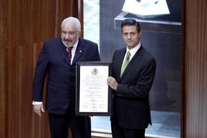 Enrique Peña Nieto fue declarado presidente electo de la República por el Tribunal Electoral y el 1 de diciembre se convertirá en el primer mandatario priista en 12 años.