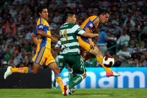 Tigres se estancó en la tabla con 9 unidades.
