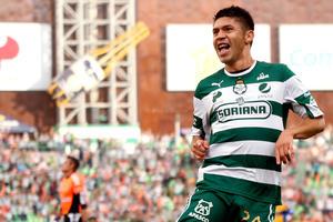 Oribe Peralta se reencontró con el gol en el balompié mexicano.