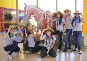 03092012 NURIA  Máynez, Citlali Casas, Carolina Castro, Mafer Gómez, Sandra Ovalle, Ana Isabel Rubio y Diana Gallegos.