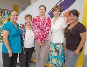 03092012 LUZ , Lupita, Pily, Yazmín y Cristina.