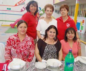 03092012 SILVIA , Luz Elena, Ludy, Cristy, Brenda y Anabel.