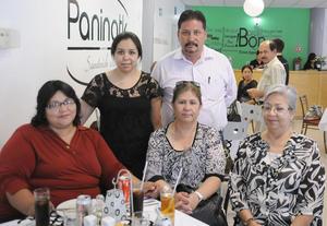 02092012 NICTE  Tejada, Sergio García, Elsa González, Elizabeth Jardón y Blanca Flores en reciente inauguración.