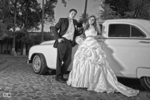 DRA. CLAUDIA Elizabeth Triana Domínguez el día de su boda con el Ing. Orlando Carrasco Carranza.- Edmundo Isais Fotografía
