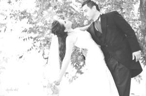 SRITA. PAULINA Landeros Domínguez, el día de su boda con Sr. Diego Iván Gallegos Acosta.- Alejandra Vidal Fotografía