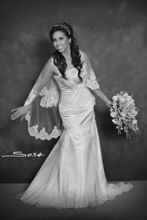 SRITA. ELENA Rangel Gutiérrez unió su vida en matrimonio a la del Sr. André Joseph.- Studio R. Sosa