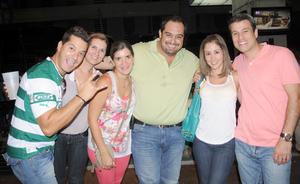 05092012 GUILLERMO , Maribel, Adriana, Luis, Monse y Humberto.