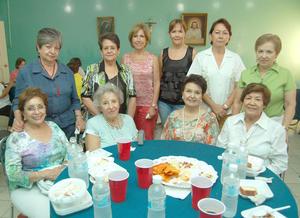 07092012 YOLIS,  Cristina, Martha, Chepis, Raquel, Cristy y Melita.