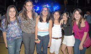 09092012 ANA PAU,  Sofía, Ana Laura, Carmen y Mariana.