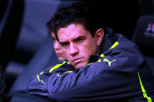 Alejandro Irarragorri, presidente de Santos Laguna, se mostró triste por una nueva derrota por parte del América hacia sus 'Guerreros' en el Estadio Azteca.