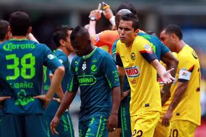 Santos no tuvo capacidad de respuesta, aunque generó un par de jugadas por parte de Oribe Peralta y Darwin Quintero.