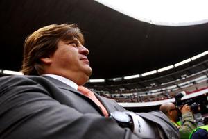 El Director Técnico del América Miguel Herrera aseguró que no le importa si convence o no la forma de jugar de las Águilas ya que a él lo trajeron para ganar partidos.