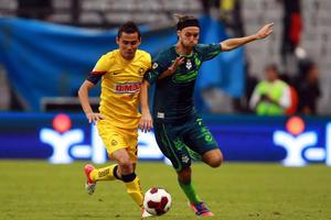 Edgar Gerardo Lugo mostró muy poco en la derrota de su equipo ante unas Águilas que sin problema los vencieron.