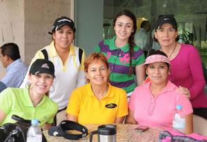 17092012 CLAUDIA , Sofía, Susana, Sandra, Olga y Rosy.