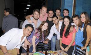 17092012 INAUGURACIóN . Alex, Luis, Jéssica, Pepe, Uriel, Jorge, Chava, Fer,  Christian, Ricky y Priscila.