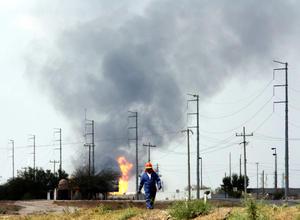 El centro de Pemex recibe gas procedente de la llamada cuenta de Burgos y aún se analiza la causa del incendio y la evaluación de los daños.
