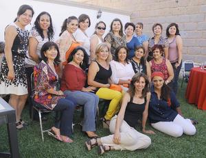 20092012 SOCIAS  del Club de Jardinería Alhely en su reciente reunión.