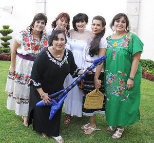 22092012 MARILú , Lilia, Laura, Tere, Araceli y Silvia.