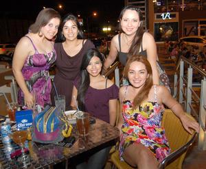 23092012 NATHALIE,  Diana, Judith, Alejandra y Aída.