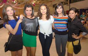 25092012 PAULINA , Fany, Zezil, Andrea y Joceline.