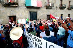 Sindicatos expresaron su oposición a la reforma laboral.