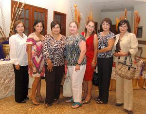 26092012 EVA , Moiky, Estela, Armida, Ángeles, Reyna y Rosy.