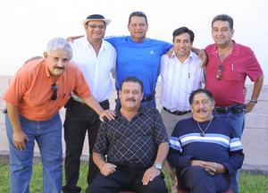 27092012 LORENZO  Fasio, Efrén Negrete, José Luis Ramírez, Momo Esquivel y Javier Moreno.