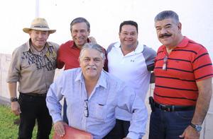 27092012 JESúS  Chávez, Arturo Ruiz, Esteban Méndez, José Negrete, Javier González, Rogelio Uribe y Eduardo Ruiz.