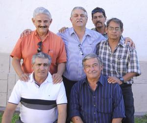 27092012 JESúS  Chávez, Javier Moreno, Luis Sifuentes, José Ángel Peña, Pedro Sifuentes y Pedro Chávez.