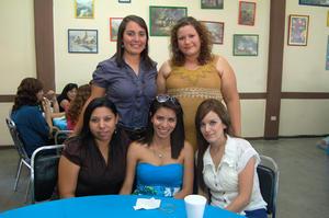 30092012 EN CANASTILLA.  Brenda Luna, Karla Rocha, Abigail Aguilar, B