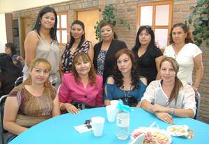 30092012 EN CANASTILLA.  Mayra, Lupita, Margarita, Paty, Cuca, Lizeth, Antonieta, Cynthia y Dalia.
