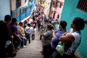 Alrededor de 19 millones de venezolanos acudieron a las urnas para elegir al presidente del periodo 2013-2019.