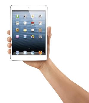 Apple lanzó su iPad mini que tiene una pantalla de 20.1 centímetros, un grosor de 7.2 milímetros, un peso aproximado de 300 gramos.