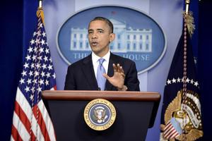 En una declaración desde la Casa Blanca, el presidente Barack Obama afirmó que 'ésta será una gran y difícil tormenta' que va a afectar a 'millones de personas'.