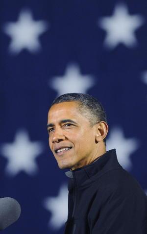 """Barack Obama, finalizó este su campaña por la reelección en Iowa, el estado """"donde todo comenzó"""" en 2008 con una inesperada victoria en las primarias de su partido que marcó el inicio de un """"movimiento por el cambio""""."""