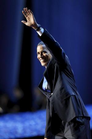 """""""Nunca he estado más esperanzado sobre nuestro futuro, sobre Estados Unidos. Les pido que mantenganesa esperanza"""", declaró Obama."""