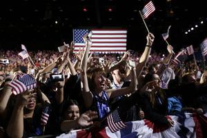 Obama dio las gracias a todos los votantes, a los que lo apoyaron en 2008 y a los que lo han hecho ahora por primera vez, por haber creído en él.
