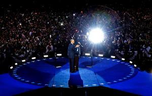 El presidente de Estados Unidos, Barack Obama, ganó la reelección para un segundo período de 4 años al vencer a su rival del Partido Republicano, Mitt Romney, en un proceso reñido.