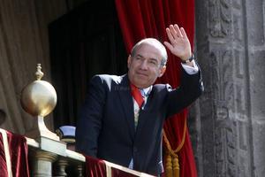 """El presidente de México, Felipe Calderón, afirmó que su país ahora es """"más fuerte"""" incluso para combatir la delincuencia."""