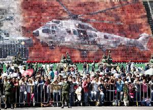 El desfile militar, cívico y deportivo, con motivo del 102 aniversario del inicio de la Revolución Mexicana, concluyó 'sin novedad'.