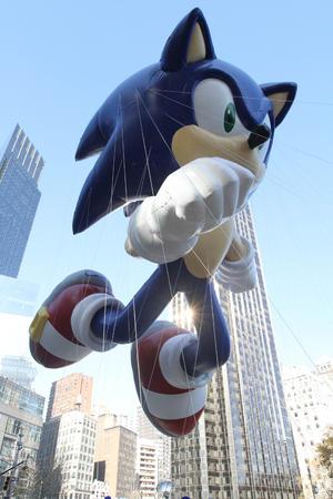 Los espectaculares globos se apreciaron en las calles de Nueva York. (AP)