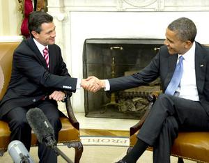 Al inicio de un encuentro privado en el Despacho Oval de la Casa Blanca, Obama felicitó a Peña Nieto por su triunfo en julio pasado, y afirmó que México es, hoy por hoy, algo más que un socio importante de Estados Unidos.