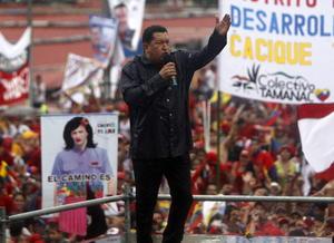 7 de octubre. Venezuela | El presidente de Venezuela, Hugo Chávez, ganó  las elecciones presidenciales de su país con el 54.42 % de los votos y gobernará hasta el año 2019, informó el Consejo Nacional Electoral (CNE).