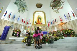 La mayoría de las plegarias para la Virgen fue por la paz en la Comarca Lagunera.