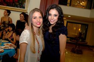 Ana Sofía González y Niní Luna.