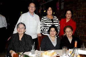 Jorge Ledezma, Conchis González, Margarita Issa, Guadalupe Rosas, Mague Juan Marcos y Aurora Blanco.