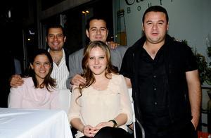 Héctor, Jorge, Carlos, Ana Sofía y Martha.